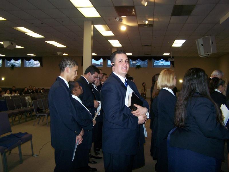 Chaplains Receiving Certificates & Badges