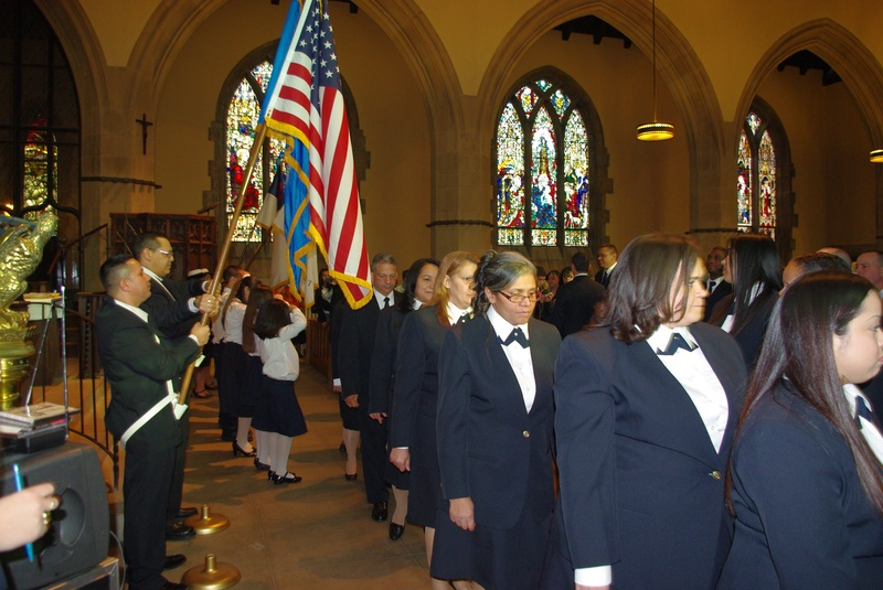 New Chaplains March In