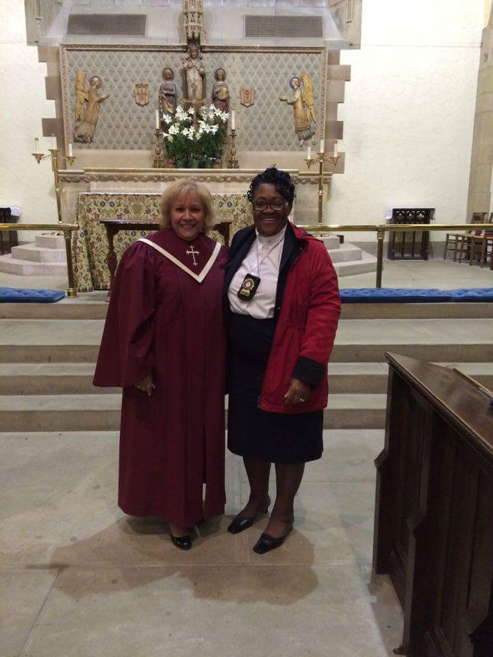 Archbishop Evelyn & Rev. Cooper