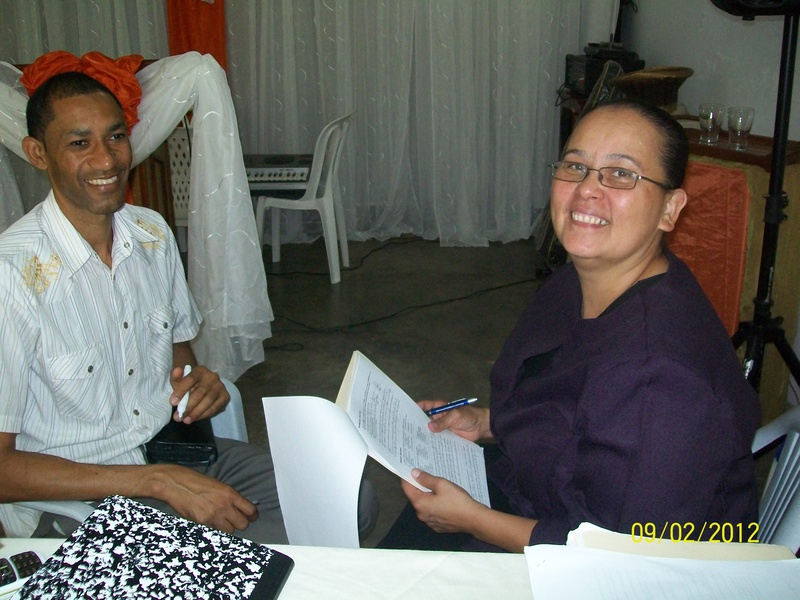 Capellana Dominga Montanez & Estudiante
